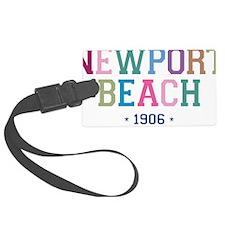 Newport Beach 1906 B Luggage Tag
