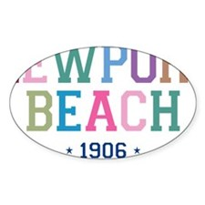 Newport Beach 1906 B Decal