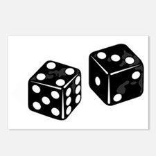 dice Postcards (Package of 8)