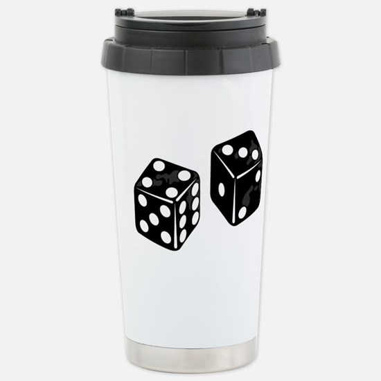 dice Stainless Steel Travel Mug
