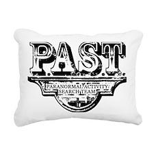 past_blk Rectangular Canvas Pillow