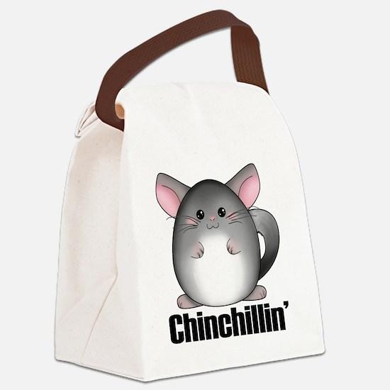 chinchillin Canvas Lunch Bag