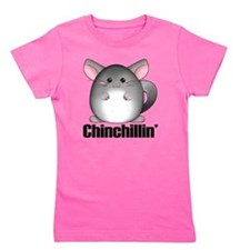 chinchillin Girl's Tee