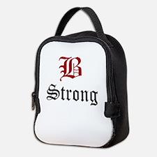 B Strong Neoprene Lunch Bag