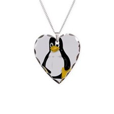 tux_with_white Necklace