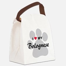 I Love My Bolognese Canvas Lunch Bag