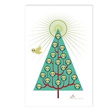 skullbirds-shirt Postcards (Package of 8)