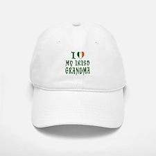 I Love My Irish Grandma Baseball Baseball Cap