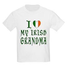 I Love My Irish Grandma Kids T-Shirt