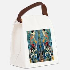 Pirate  Mermaid Canvas Lunch Bag