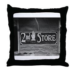 Morgan City, 1938 Throw Pillow