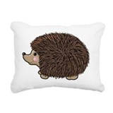 Cute hedgehog Rectangle Canvas Pillows