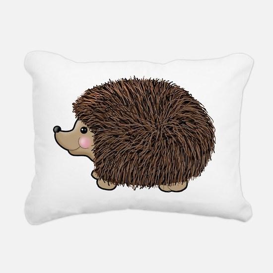 hedgie Rectangular Canvas Pillow