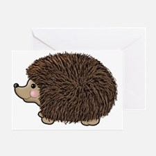 hedgie Greeting Card
