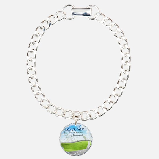 Character Quote on Tile  Bracelet