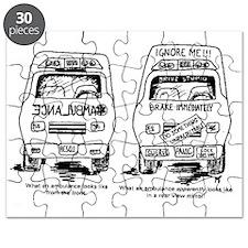 Ambulance Cartoon.gif Puzzle