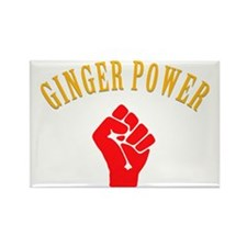 ginger-power Rectangle Magnet