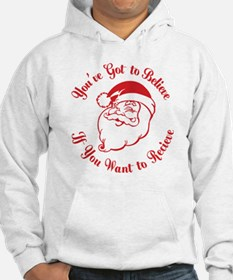 Santa Believe for Dark Shirt_JUS Hoodie
