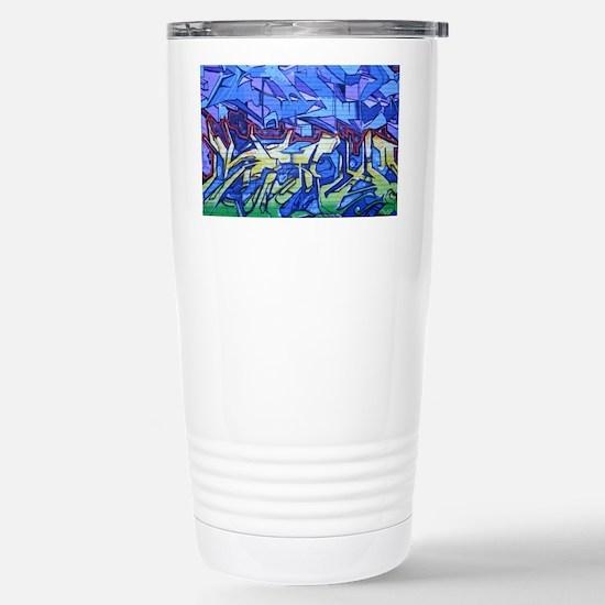 9549 Graffiti4 Stainless Steel Travel Mug