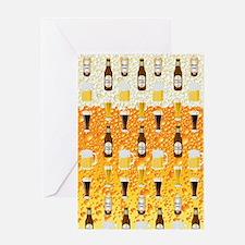 Beer Flip Flops Greeting Card