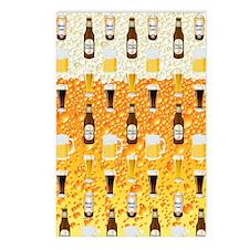Beer Flip Flops Postcards (Package of 8)
