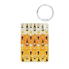 Beer Flip Flops Keychains