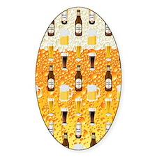 Beer Flip Flops Decal