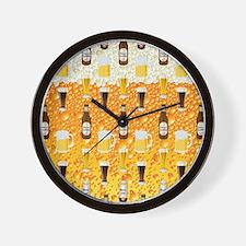Beer Flip Flops Wall Clock