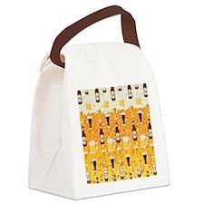 Beer Flip Flops Canvas Lunch Bag