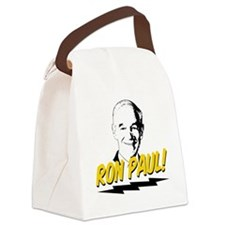 Ron-Paul-Circle Canvas Lunch Bag