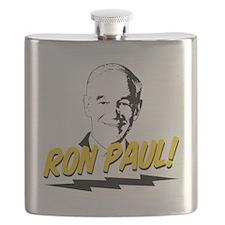 Ron-Paul-Circle Flask