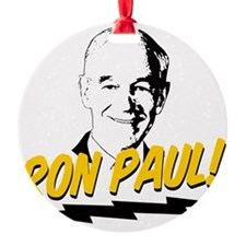 Ron-Paul-Circle Ornament