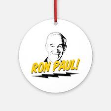 Ron-Paul-Circle Round Ornament