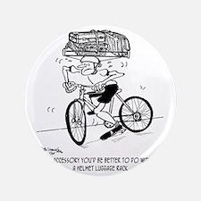"""1705_bike_cartoon 3.5"""" Button"""