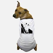 6874_motorcycle_cartoon Dog T-Shirt