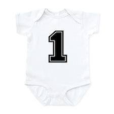1 Infant Bodysuit