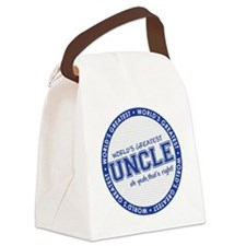 WorldsGreatestUncle Canvas Lunch Bag