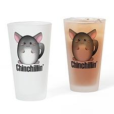 chinchillin3 Drinking Glass