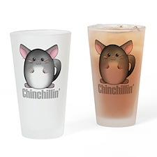 chinchillin2 Drinking Glass