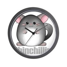 chinchillin2 Wall Clock