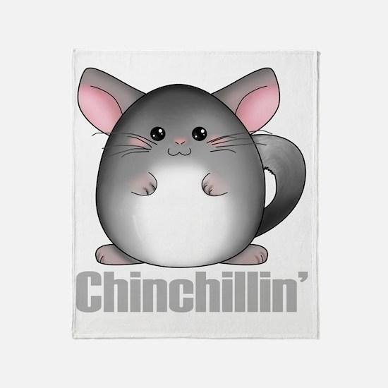 chinchillin2 Throw Blanket
