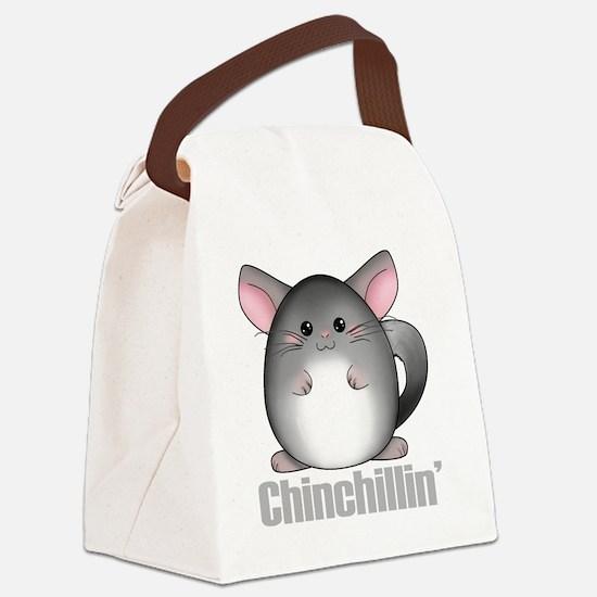 chinchillin2 Canvas Lunch Bag