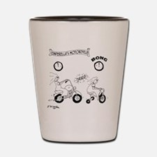 6997_motorcycle_cartoon Shot Glass