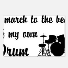 MarchDrumKit Postcards (Package of 8)