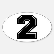 2 Oval Decal