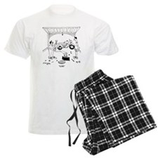 6868_bike_cartoon Pajamas