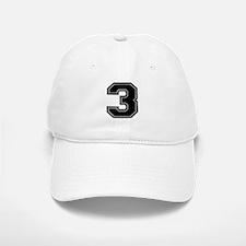 3 Baseball Baseball Cap