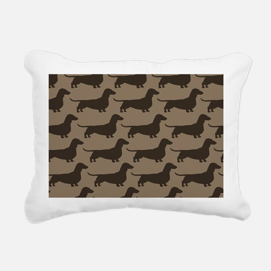 doxiebag2 Rectangular Canvas Pillow