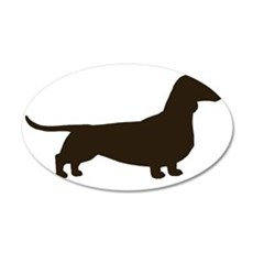 dachshundchocolate Wall Decal