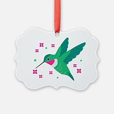 Delightful Little Hummingbird Ornament